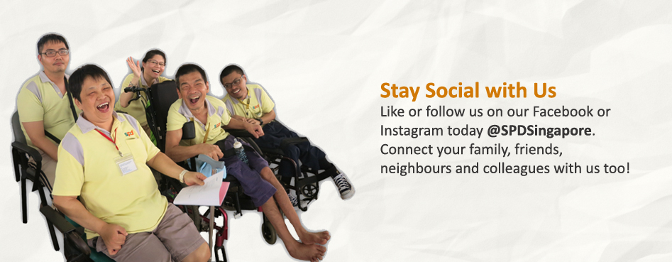 Stay Social with Us @ SPDSingapore!