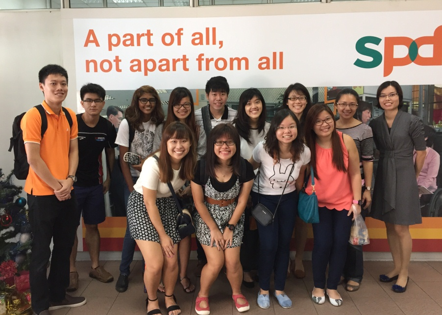 Disability Awareness Programme Conducted for NUS Students