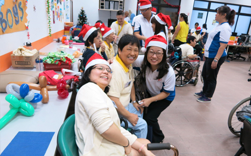 Photo of Christmas Party for Day Acitivity Centre