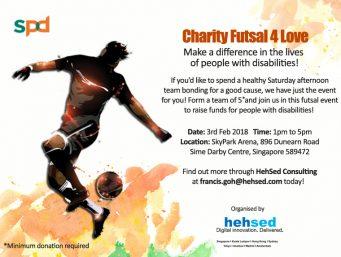 Charity Futsal 4 Love