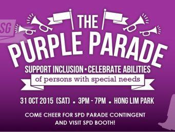 The Purple Parade 2015