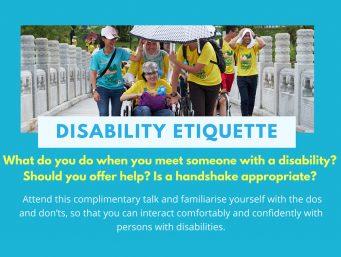 Disability Etiquette Talks