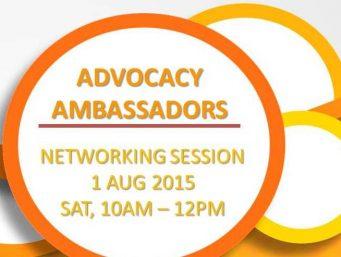 Advocacy Ambassadors Networking Session
