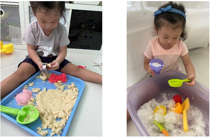 Examples of messy play