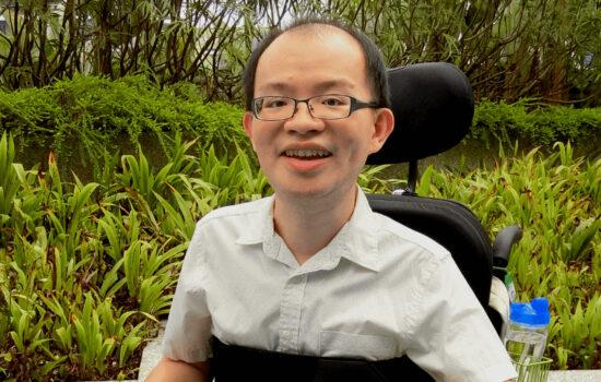 Boon Keng smiling